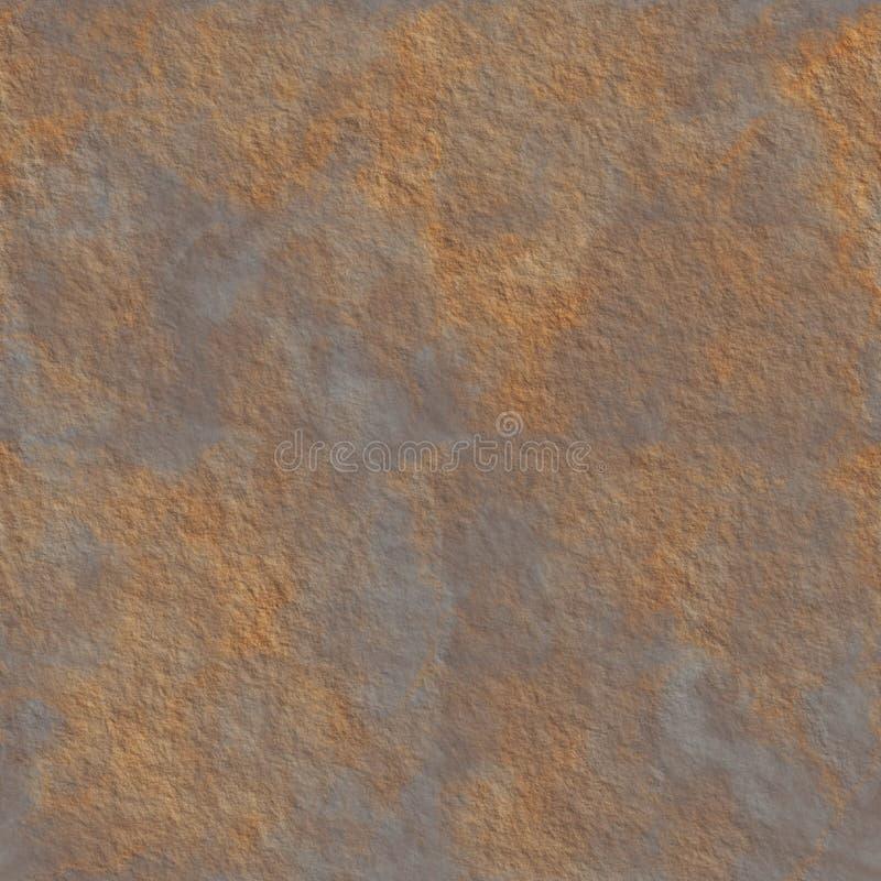 Textura sem emenda da oxidação Metall oxidado áspero imagem de stock royalty free