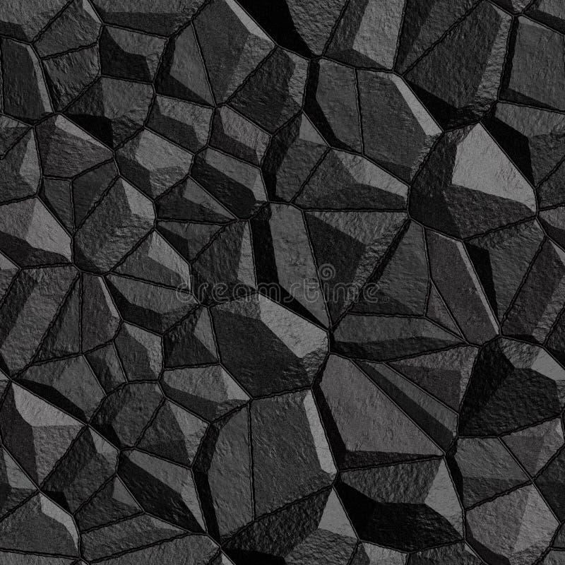 Textura sem emenda da parede de pedra ilustração do vetor