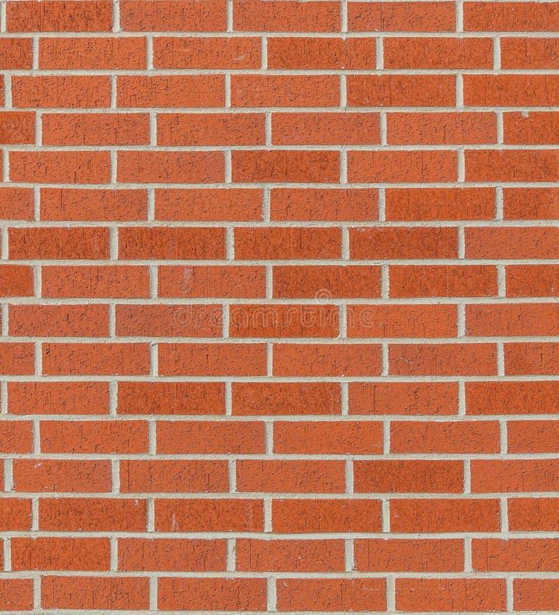 Textura sem emenda da parede de tijolo vermelho fotografia de stock
