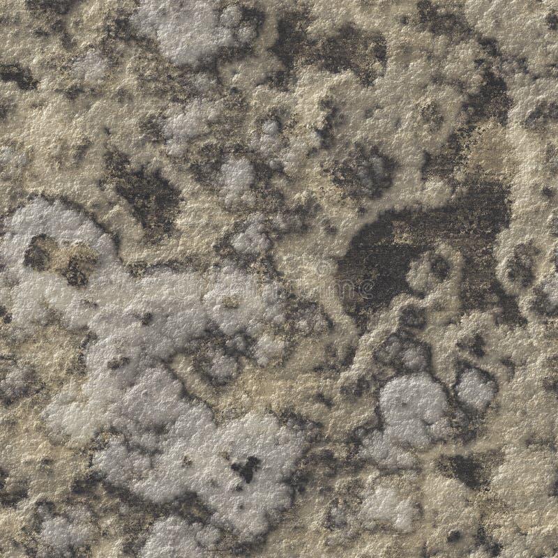 Textura sem emenda da rocha ilustração stock