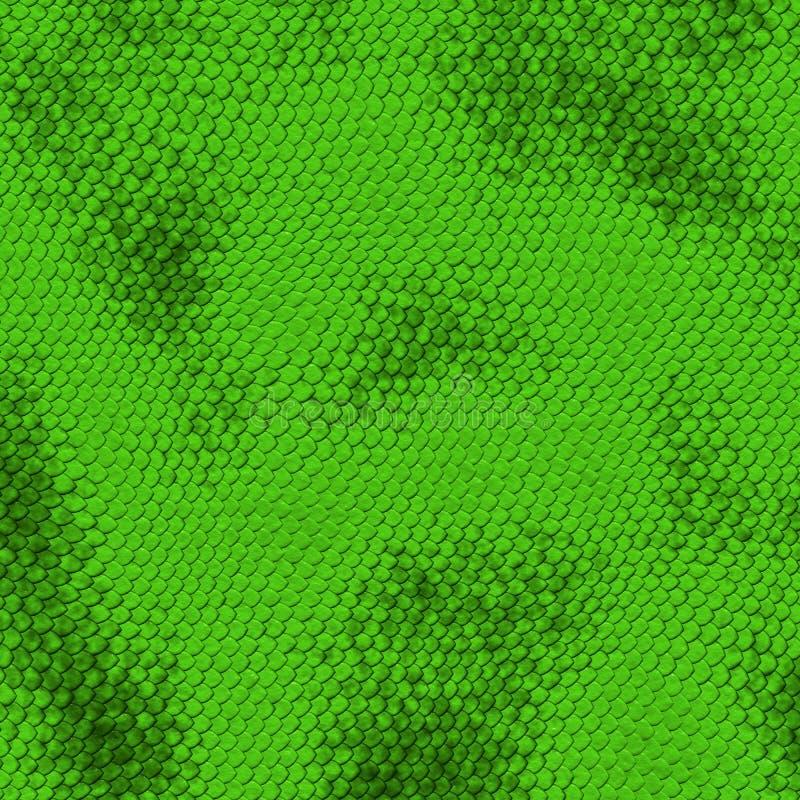 Textura sem emenda da serpente ilustração royalty free