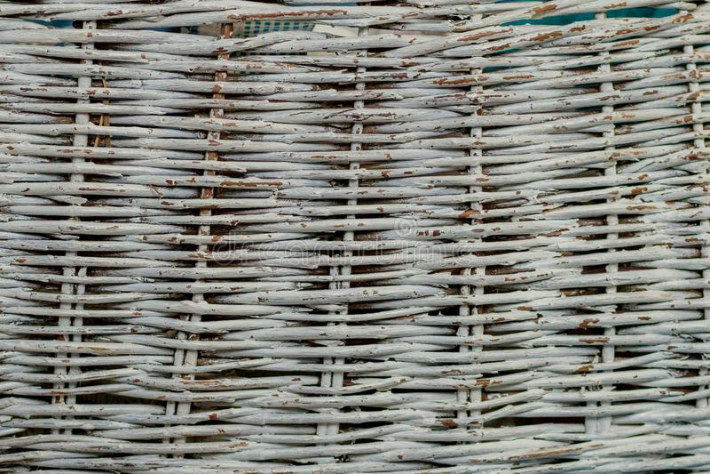 Textura sem emenda da superfície da cesta Fundo do teste padr?o Cesta de vime da palha da videira de madeira handcraft tecem o vi imagens de stock