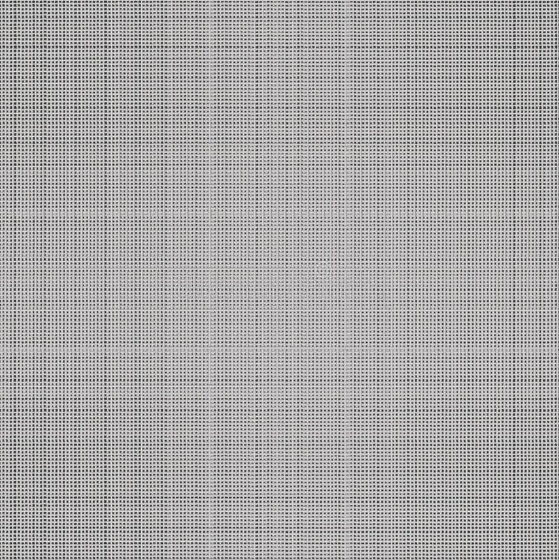 Textura sem emenda da tela. ilustração stock