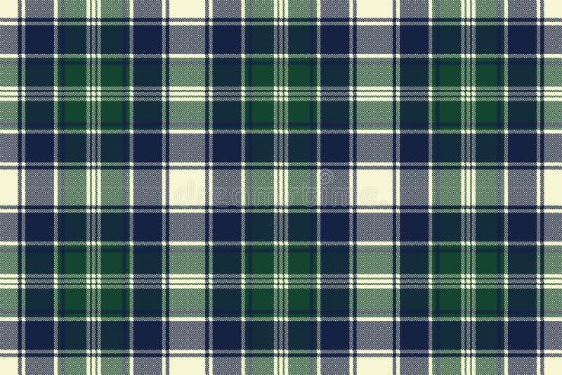 Textura sem emenda da tela do pixel da manta clássica da verificação ilustração royalty free