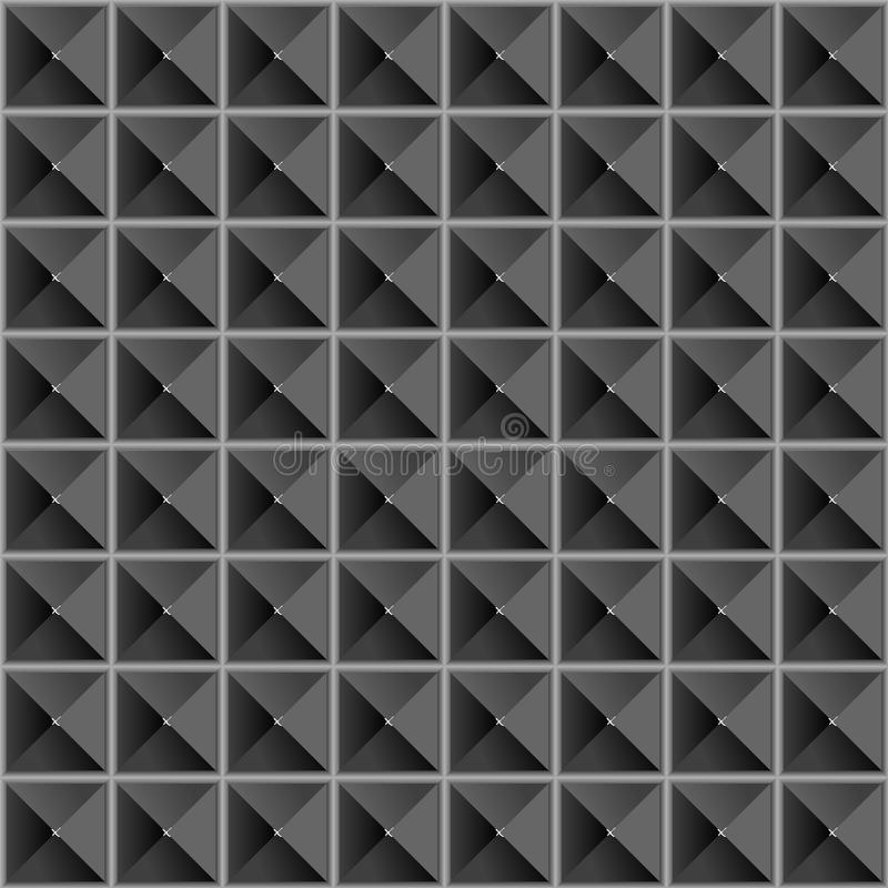 Textura sem emenda das pirâmides ilustração royalty free