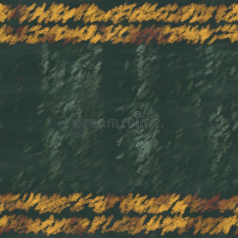 Textura sem emenda das pranchas de madeira da cor tiradas com giz - tambor ou cerca ilustração stock