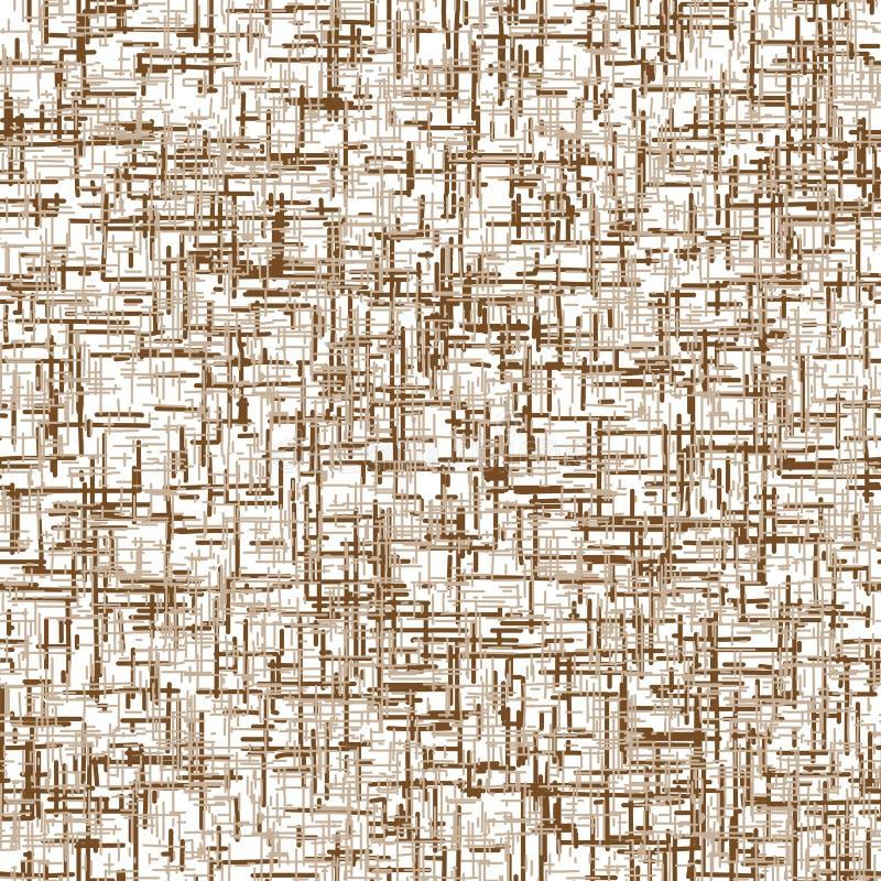 Textura sem emenda de Brown do cimento ilustração do vetor