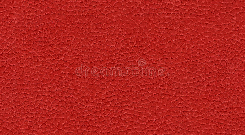 Textura sem emenda de couro vermelha imagem de stock