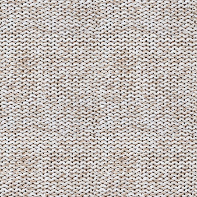 Textura sem emenda de lãs de confecção de malhas foto de stock royalty free