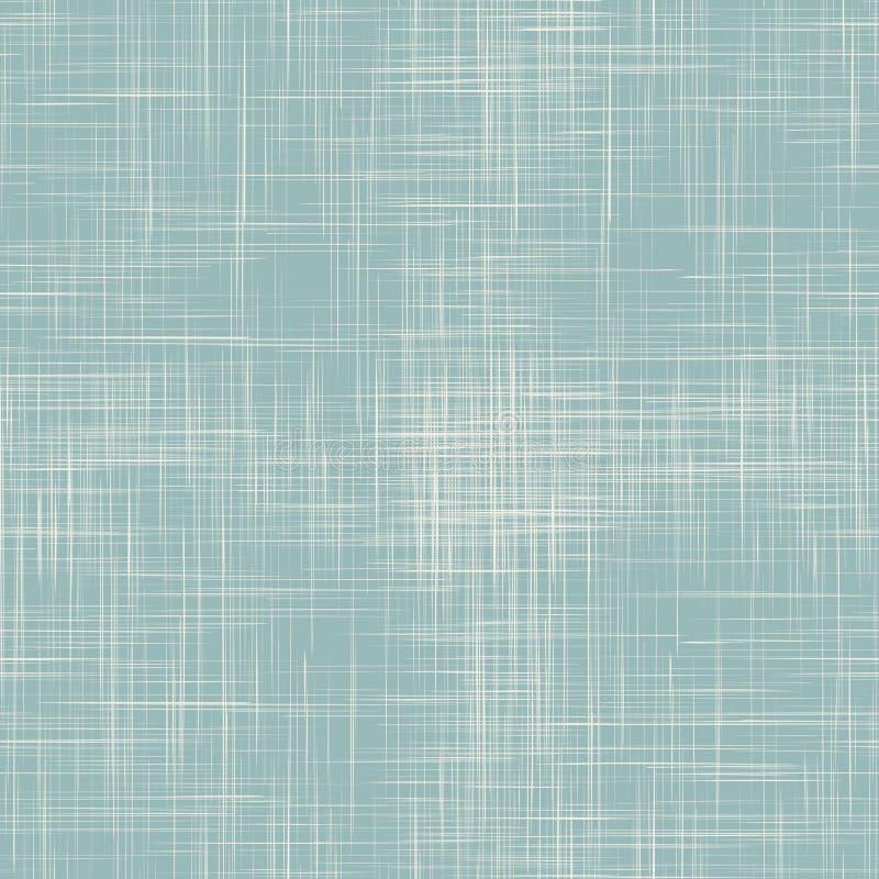 Textura sem emenda de linho azul ilustração royalty free
