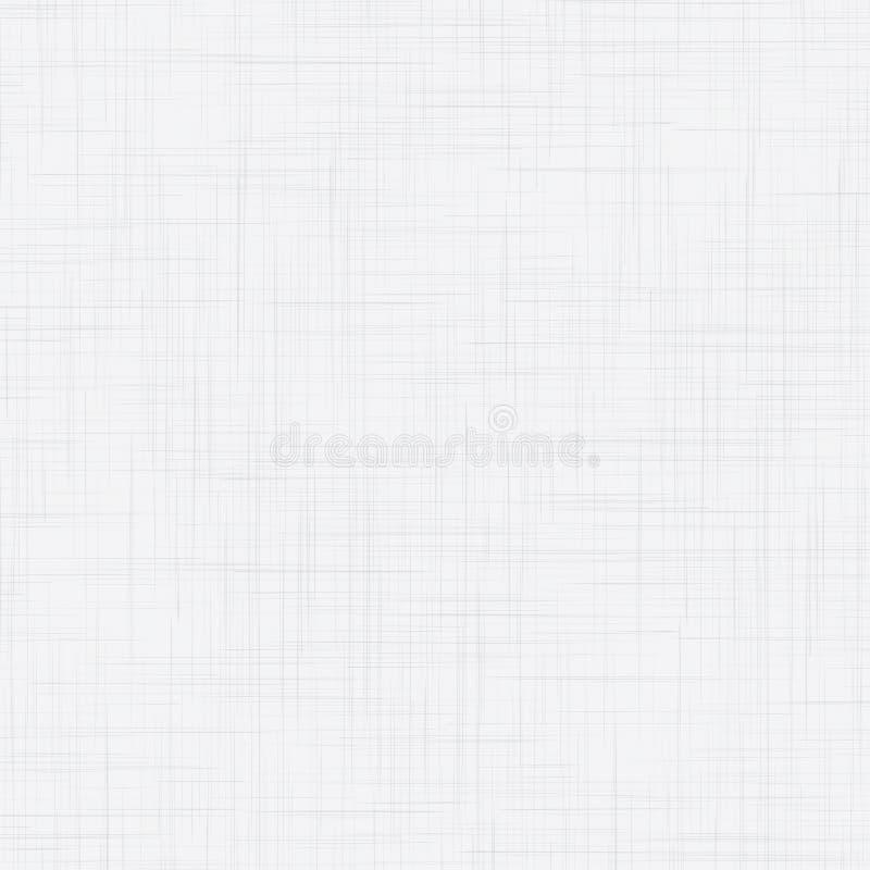 Textura sem emenda de linho branca ilustração royalty free
