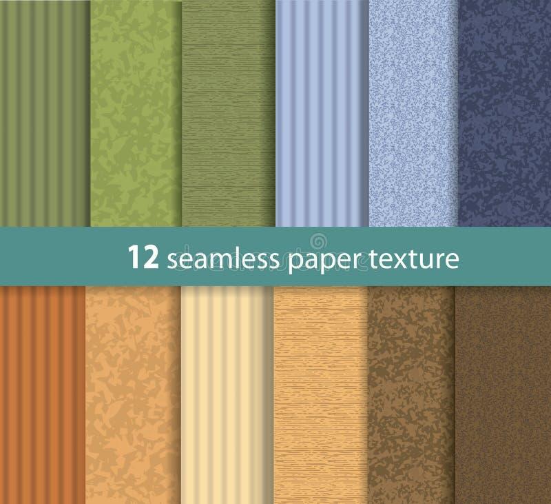 Textura sem emenda de papel do vetor ilustração do vetor