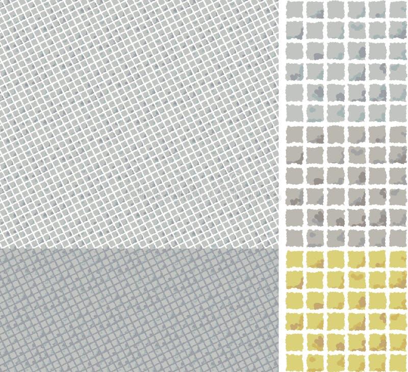 Textura sem emenda de telhas do pavimento ilustração royalty free