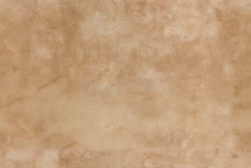 Textura sem emenda do estuque de Brown imagens de stock royalty free