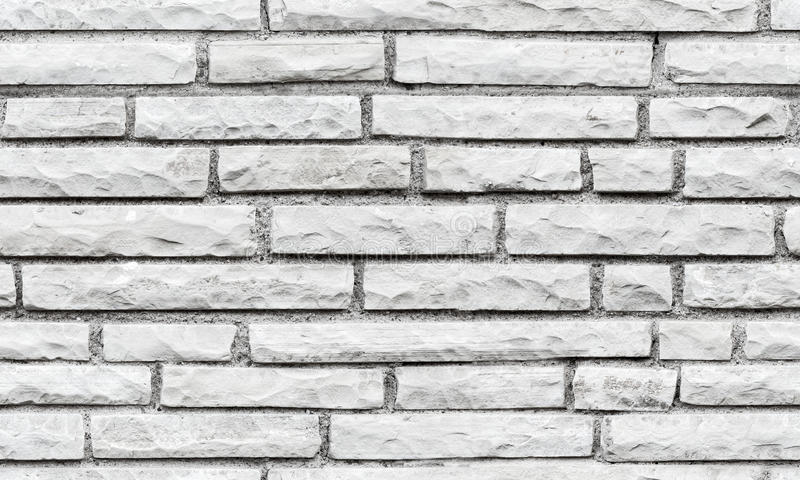 Textura sem emenda do fundo da parede de tijolo cinzenta imagem de stock royalty free