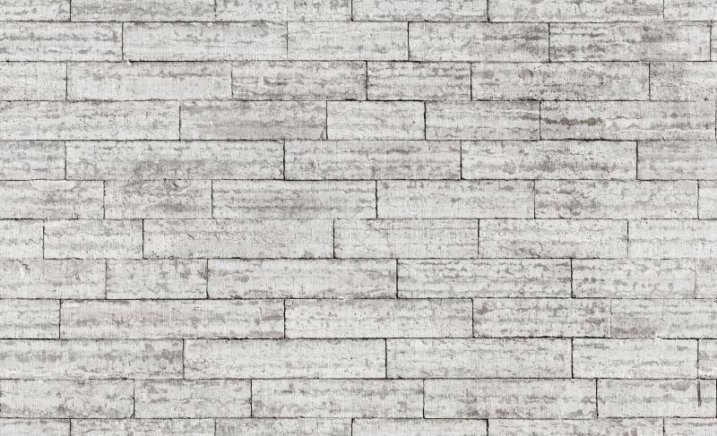 Textura sem emenda do fundo da parede de tijolo de pedra cinzenta imagens de stock royalty free