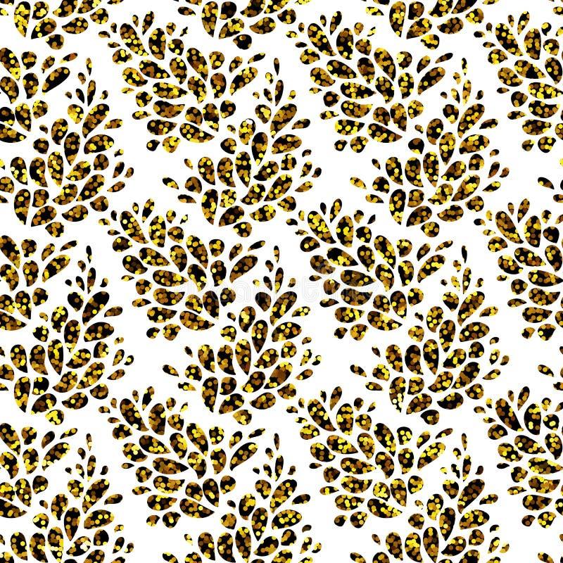 Textura sem emenda do Glitter Papel Textured para o ofício e a arte Fabr ilustração royalty free