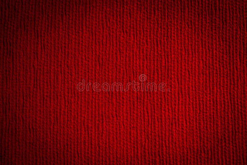 Textura sem emenda do pano vermelho imagens de stock