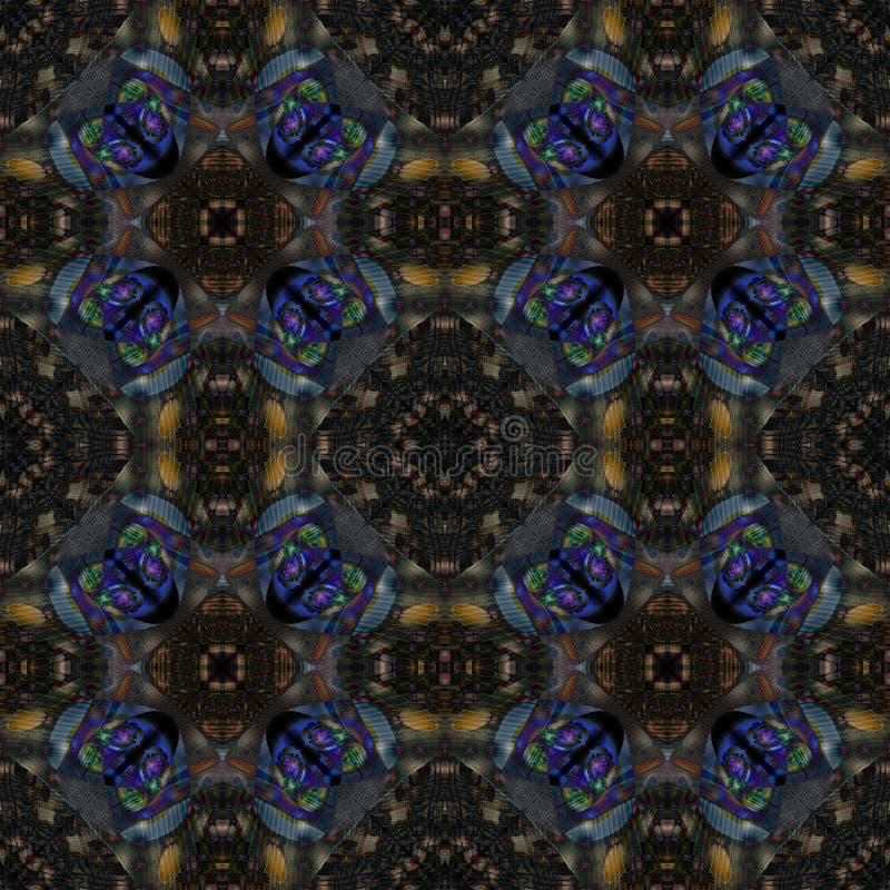 Textura sem emenda do tapete com teste padrão de flores, superfície da tela, fundo abstrato imagem de stock