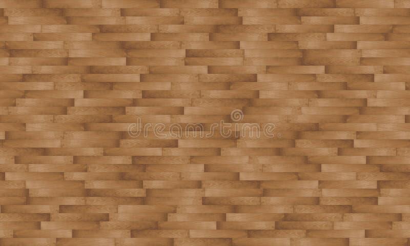 Textura sem emenda do tapume de madeira - aleatória imagens de stock