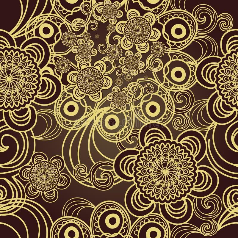 Textura sem emenda do vetor ilustração royalty free