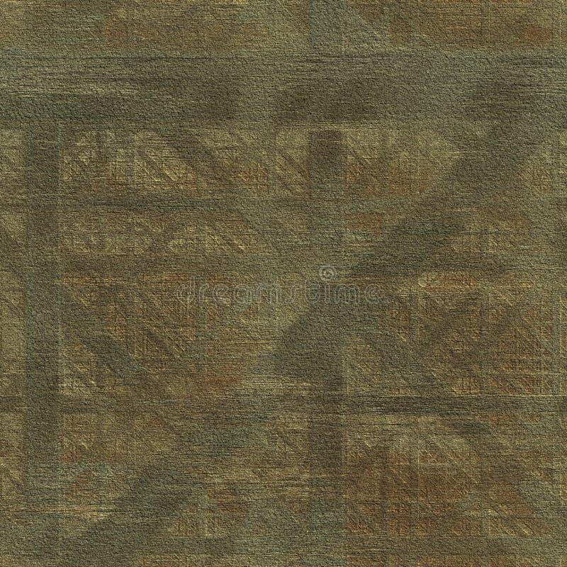 Textura sem emenda geométrica de Grunge ilustração royalty free