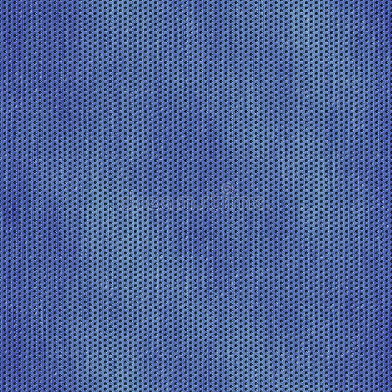 Textura sem emenda ou fundo da malha azul do fio ilustração royalty free