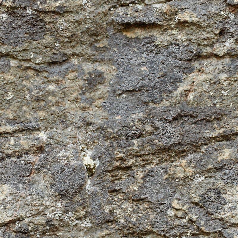 Textura sem emenda - pedra áspera natural imagens de stock