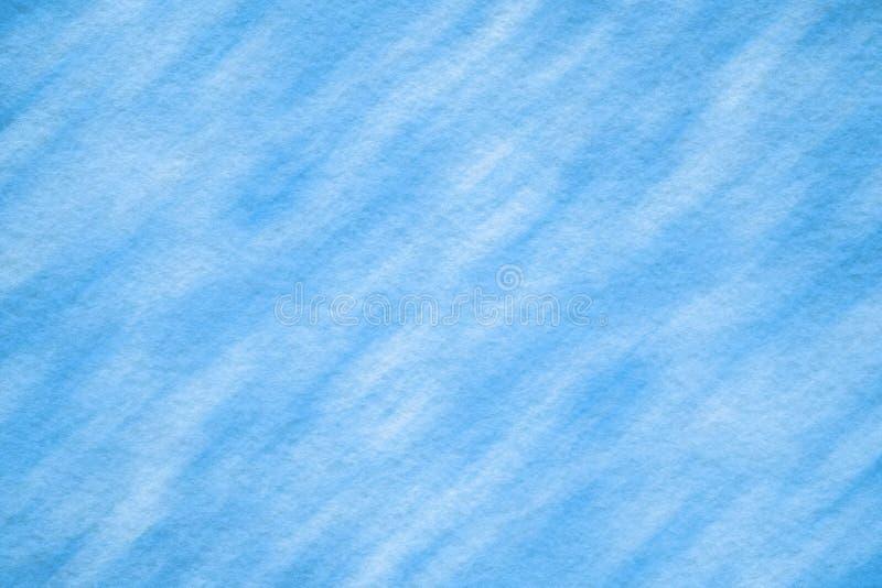 Textura sentida azul con el modelo ligero fotos de archivo