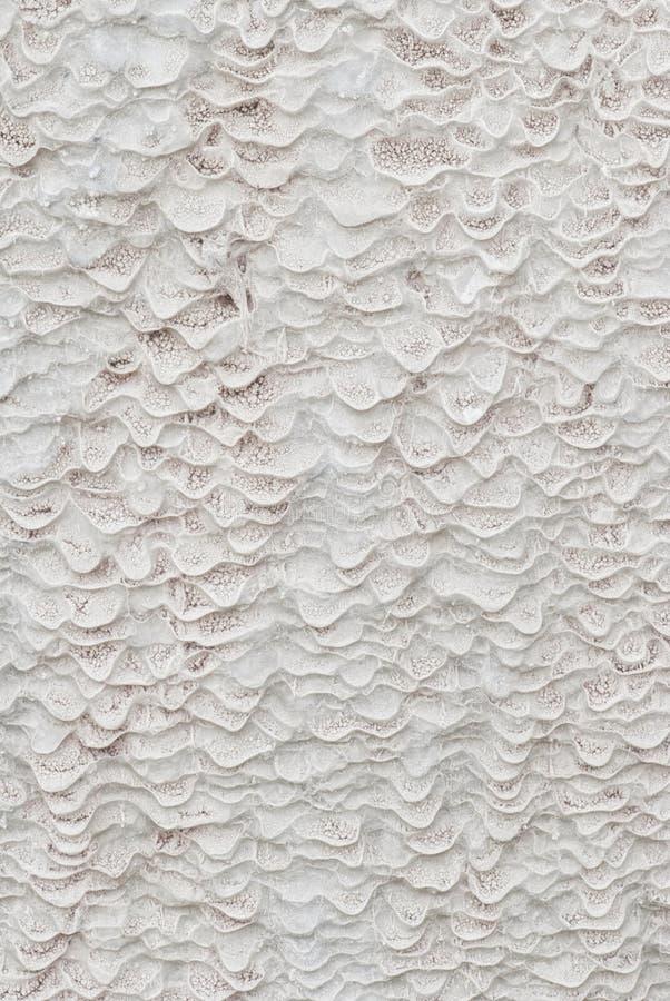 Textura sin procesar en un resorte del sulfuro imagenes de archivo