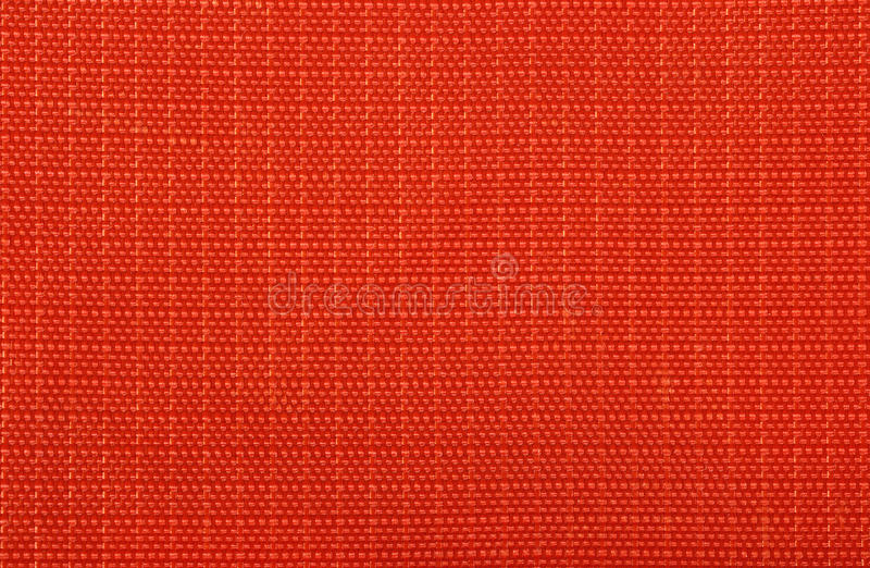 Textura sintética do fundo de pano do saco vermelho fotografia de stock