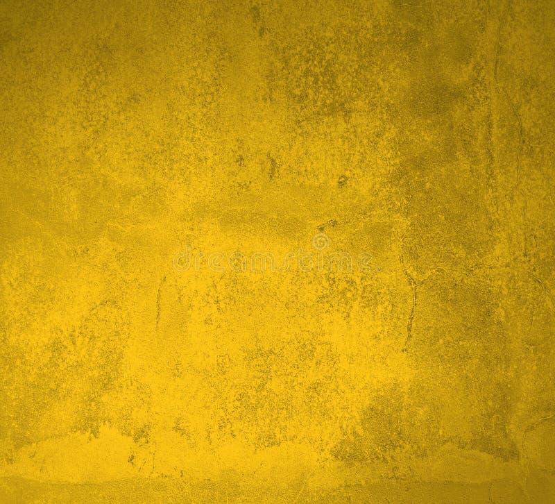 Textura sucia del oro amarillo imagen de archivo libre de regalías