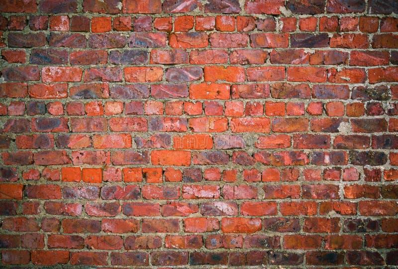 Textura suja da parede de tijolo foto de stock