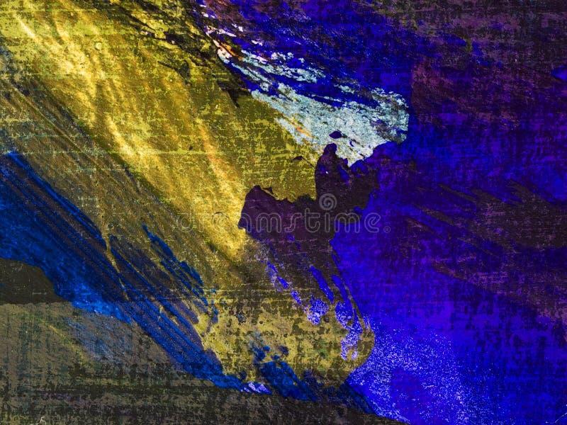 Textura suja da pintura de petróleo da ampliação elevada imagem de stock royalty free
