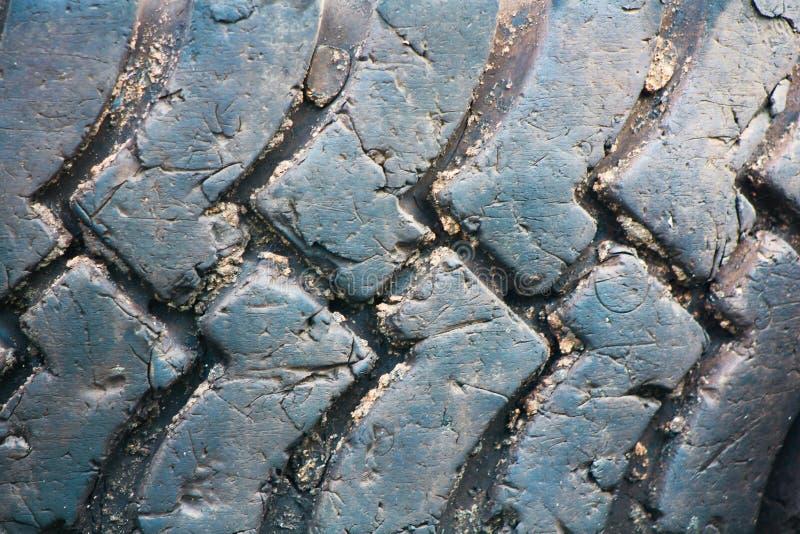 Textura suja do pneu imagem de stock