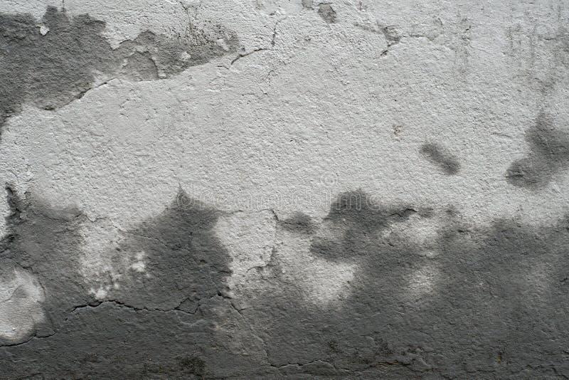 Textura suja velha do muro de cimento do cimento do grunge com molde foto de stock royalty free