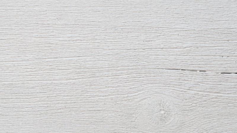 Textura superficial de madera blanca, ligera vacía del fondo Tablón viejo de madera del Grunge imágenes de archivo libres de regalías