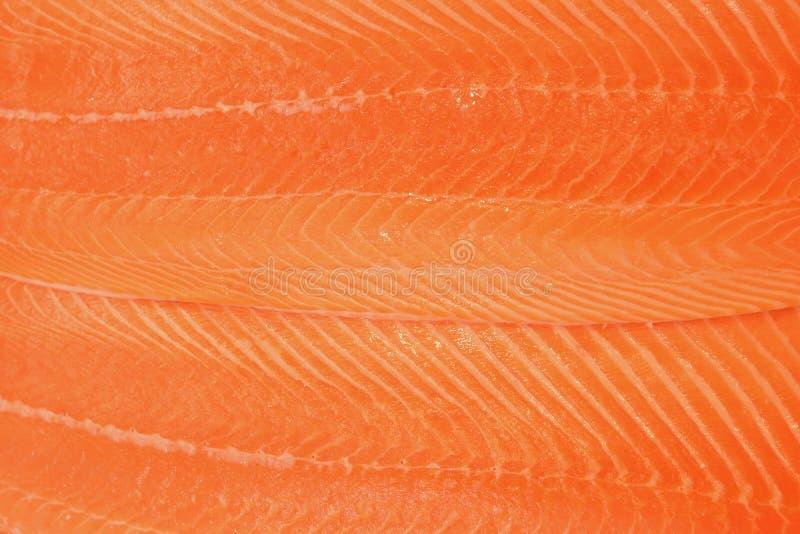 Textura superficial de Salmon Fillet foto de archivo libre de regalías