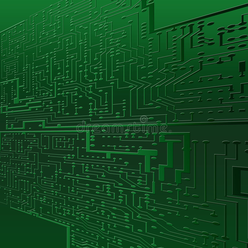 Textura superficial del ordenador ilustración del vector