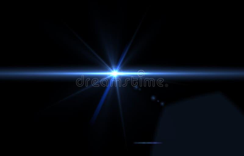 Textura superpuesta de lente iluminación sobre el diseño de objetos de fondo negro abstracto para superponer el diseño fotografía de archivo