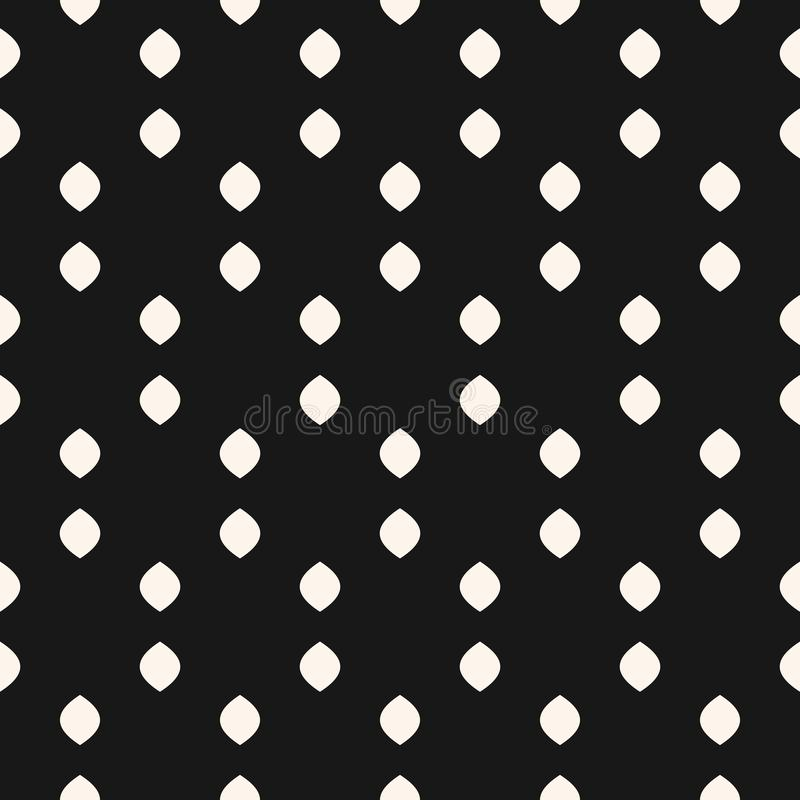 Textura sutil com pontos pequenos, pontos, formas ovate ilustração royalty free