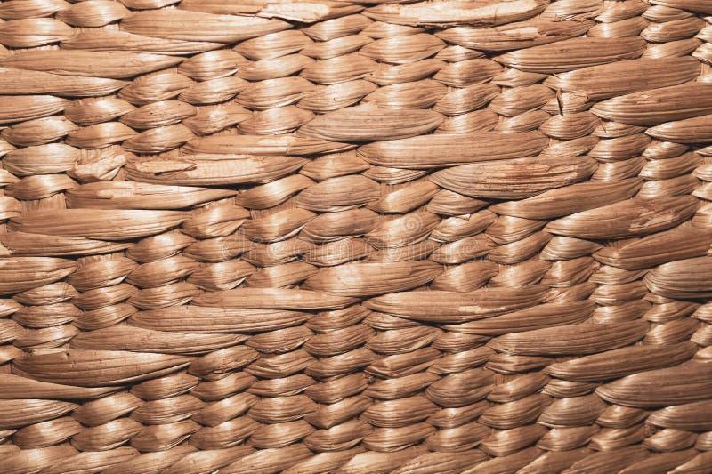 Textura tecida textura sem emenda da superfície da cesta cesta de vime da palha Handcraft a textura do weave fotos de stock royalty free