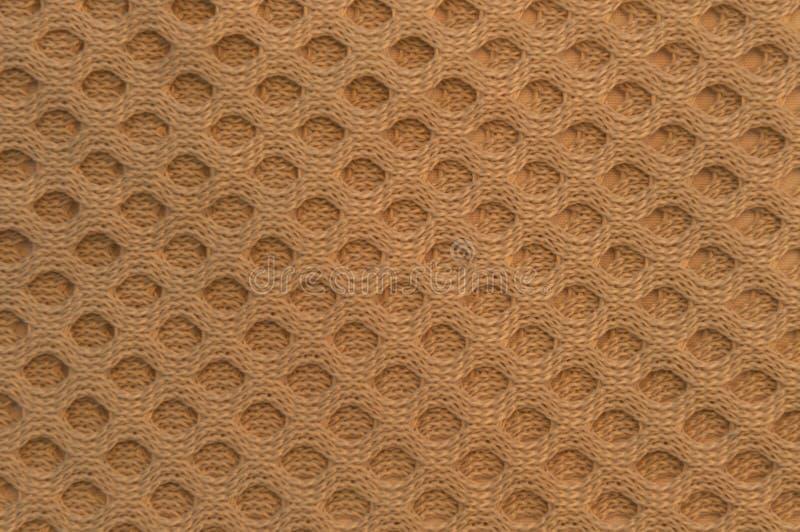 Textura tejida beige del círculo imágenes de archivo libres de regalías