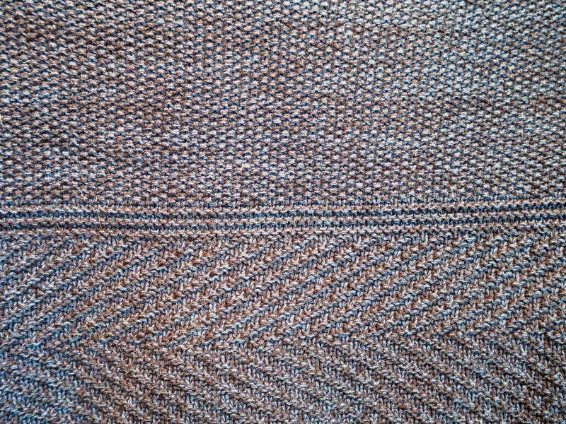 Textura tejida de un material fotos de archivo libres de regalías