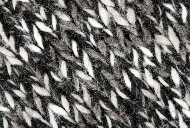 Textura tejida lanas calientes fotos de archivo libres de regalías