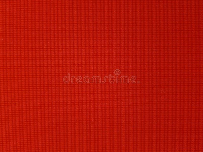 Textura tejida rojo para el fondo imagen de archivo