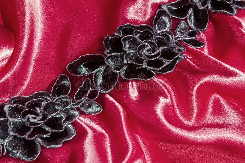 Textura, tela, fondo Fondo abstracto del fabri de lujo imagen de archivo