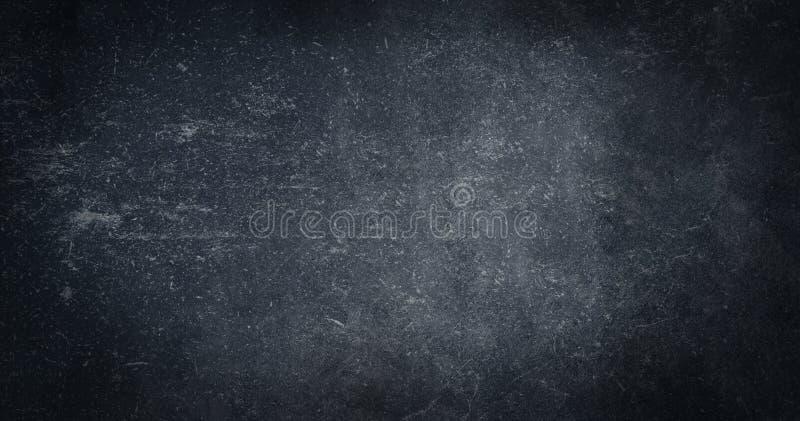 Textura textured gasto abstrata preta do fundo do papel velho Riscos vazios do efeito da bandeira do projeto do fundo fotografia de stock