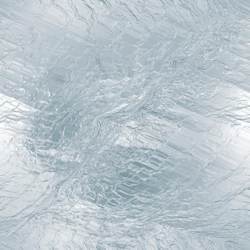 Textura tileable inconsútil del hielo Agua congelada imagen de archivo