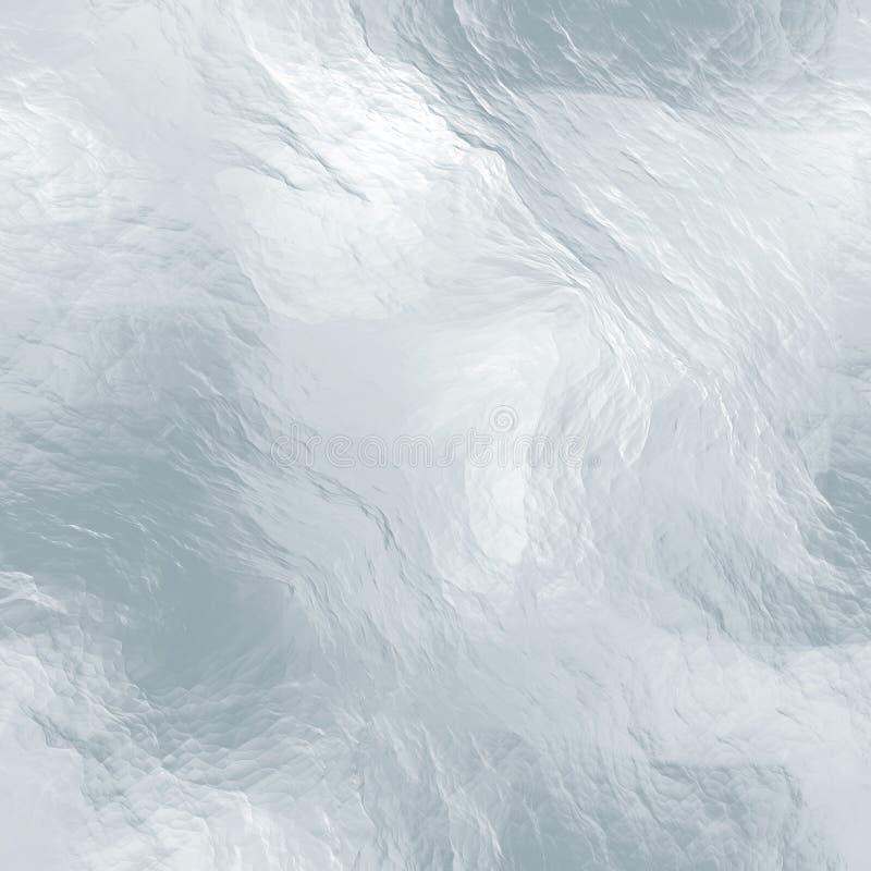 Textura tileable sem emenda do gelo Água congelada foto de stock